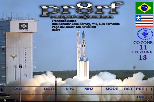 QSL image for PR8RF