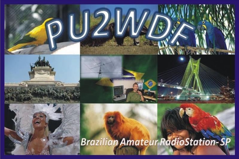 QSL image for PU2WDF