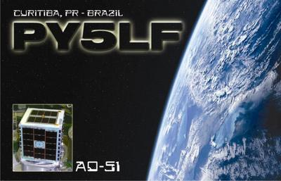 QSL image for PY5LF