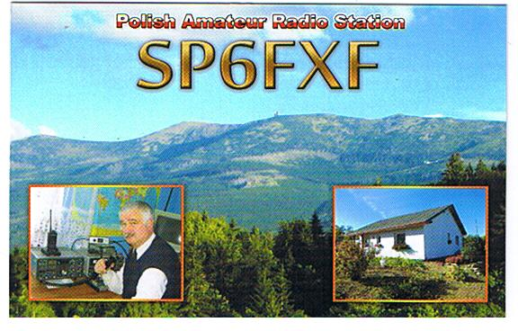 QSL image for SP6FXF