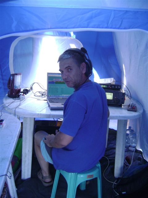 SV1DPJ operating CW on HF