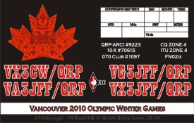 QSL image for VA3JFF