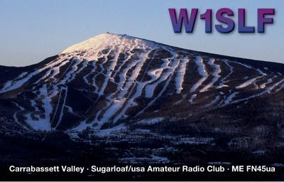 QSL image for W1SLF