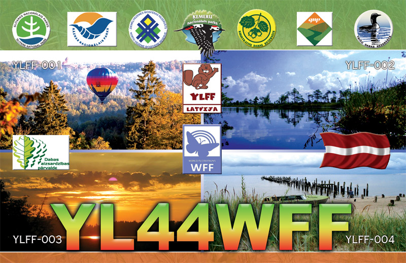 QSL image for YL44WFF