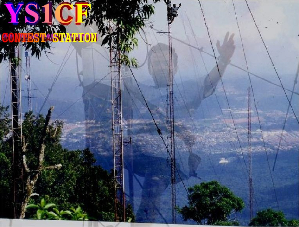 QSL image for YS1CF