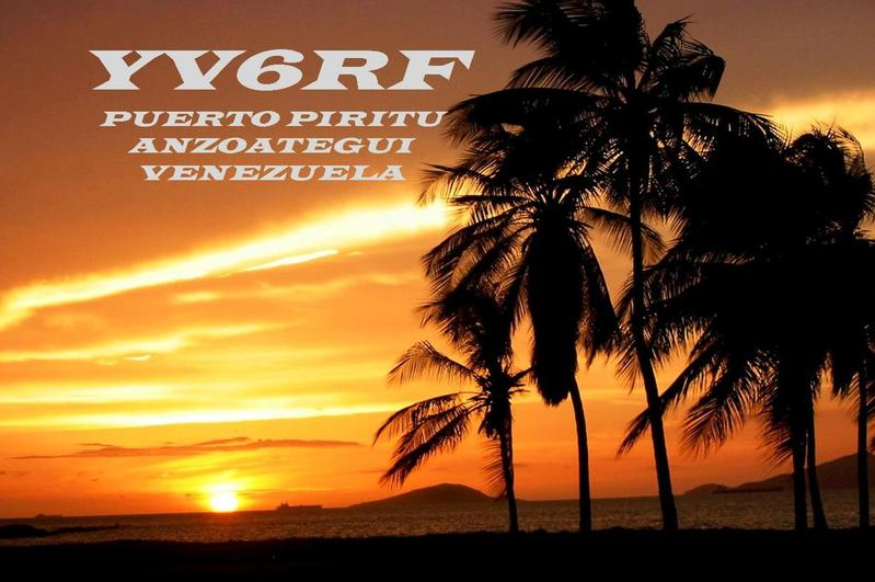 QSL image for YV6RF
