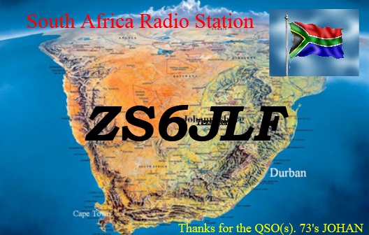 QSL image for ZS6JLF