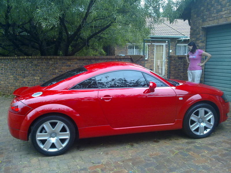 Grant's Audi TT