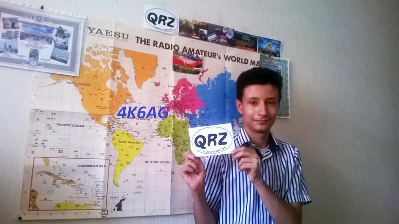 QSL image for 4K6AG