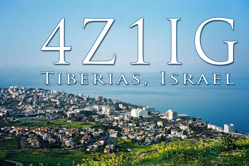 QSL image for 4Z1IG