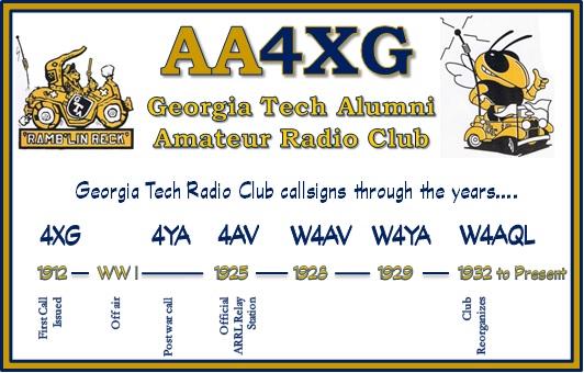 QSL image for AA4XG
