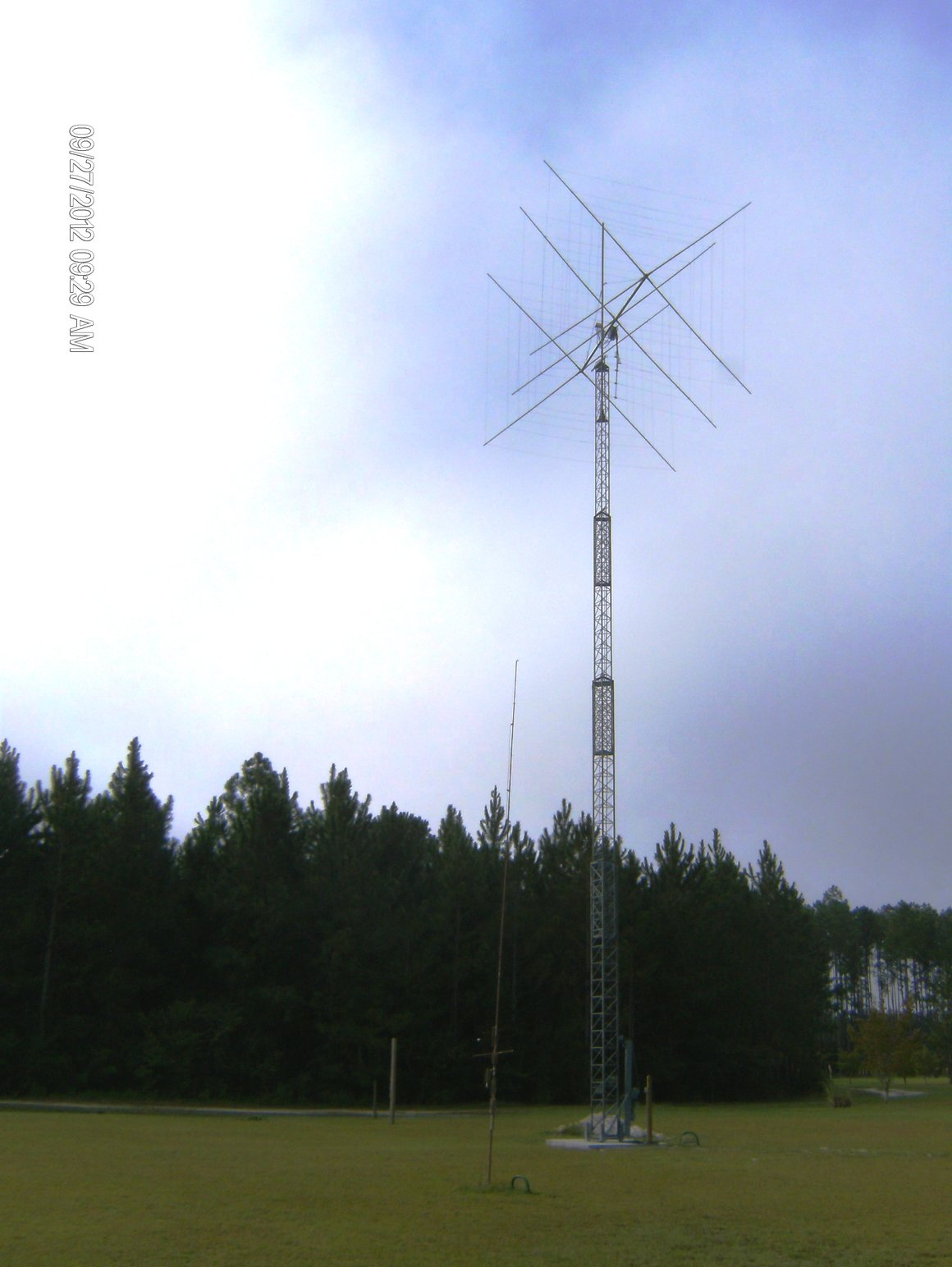 Tower design for radio amateur
