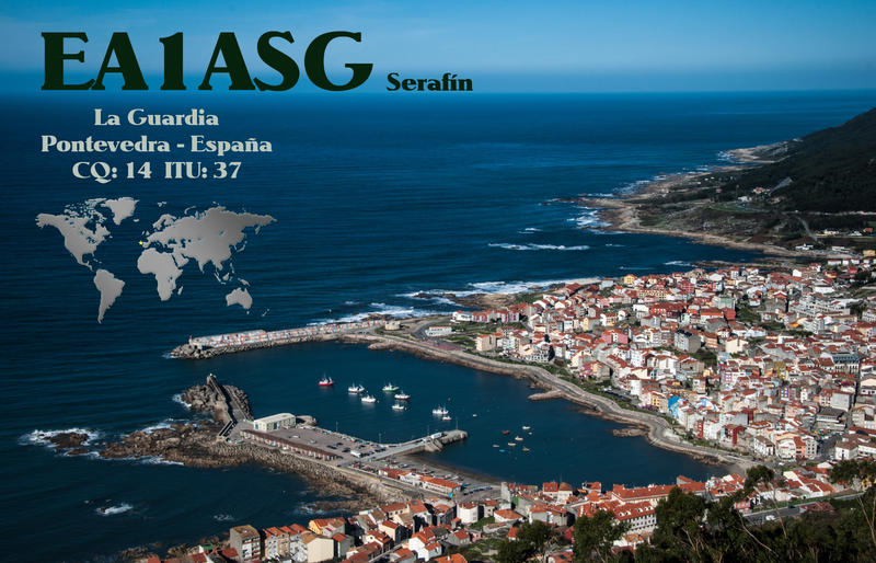 QSL image for EA1ASG
