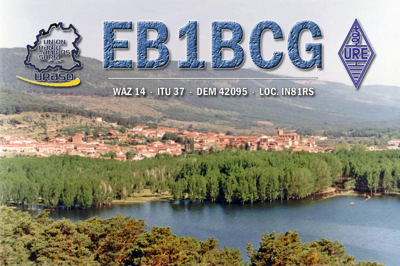 QSL image for EB1BCG