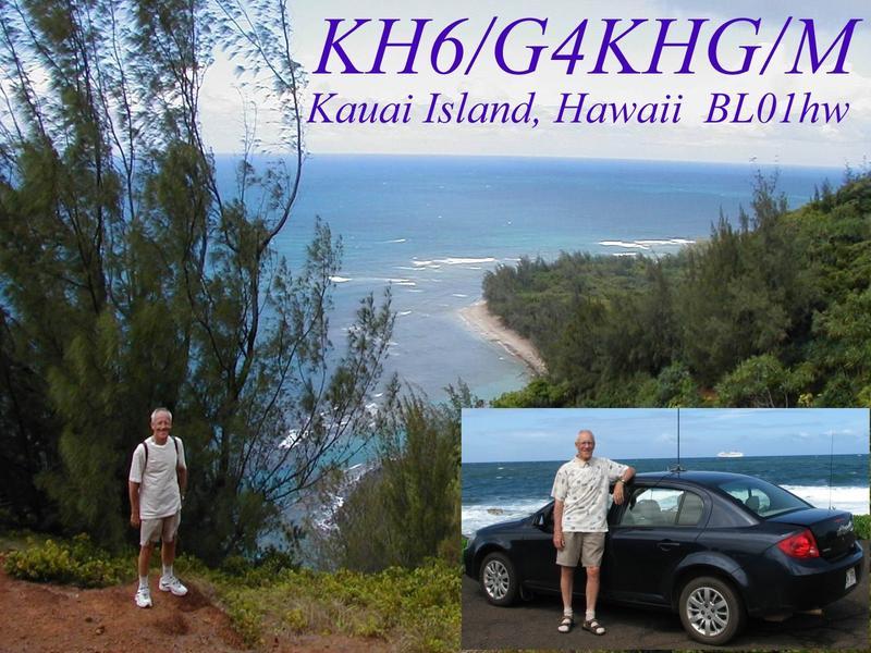 QSL image for G4KHG