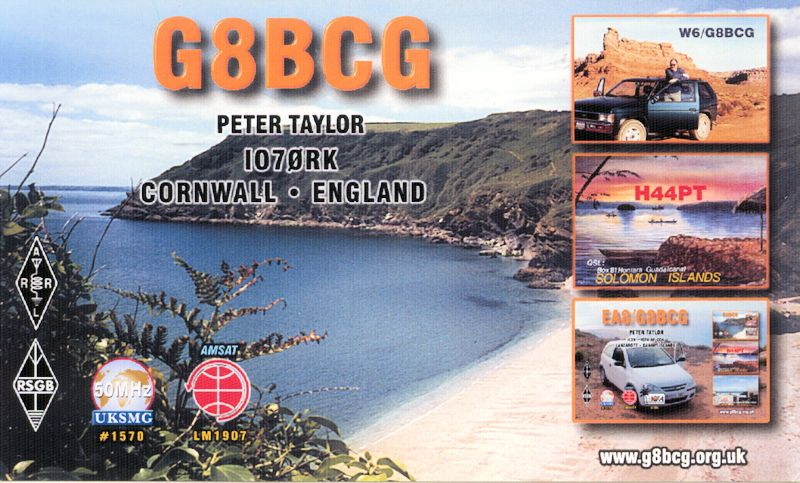 QSL image for G8BCG