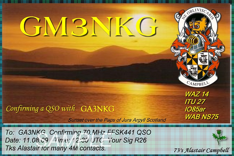 QSL image for GM3NKG