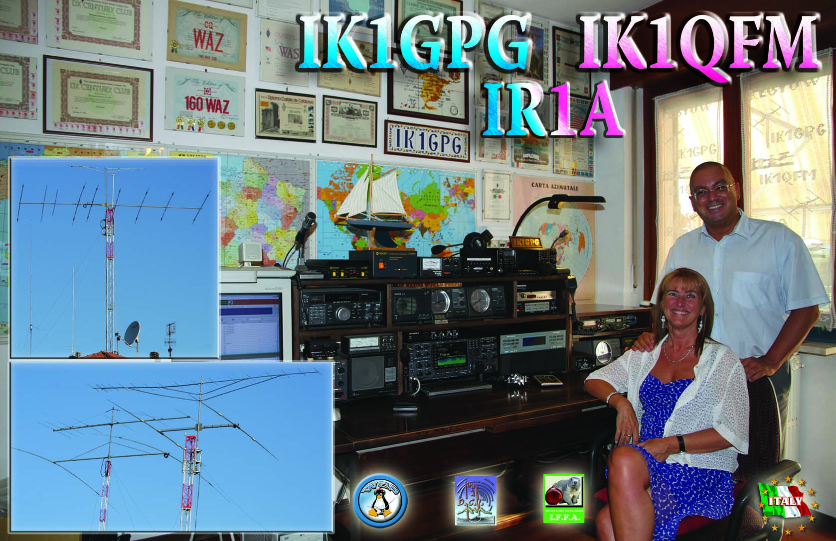 QSL image for IK1GPG
