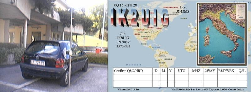 QSL image for IK2UIG