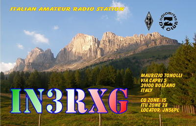 QSL image for IN3RXG