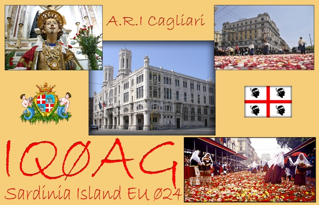 QSL image for IQ0AG
