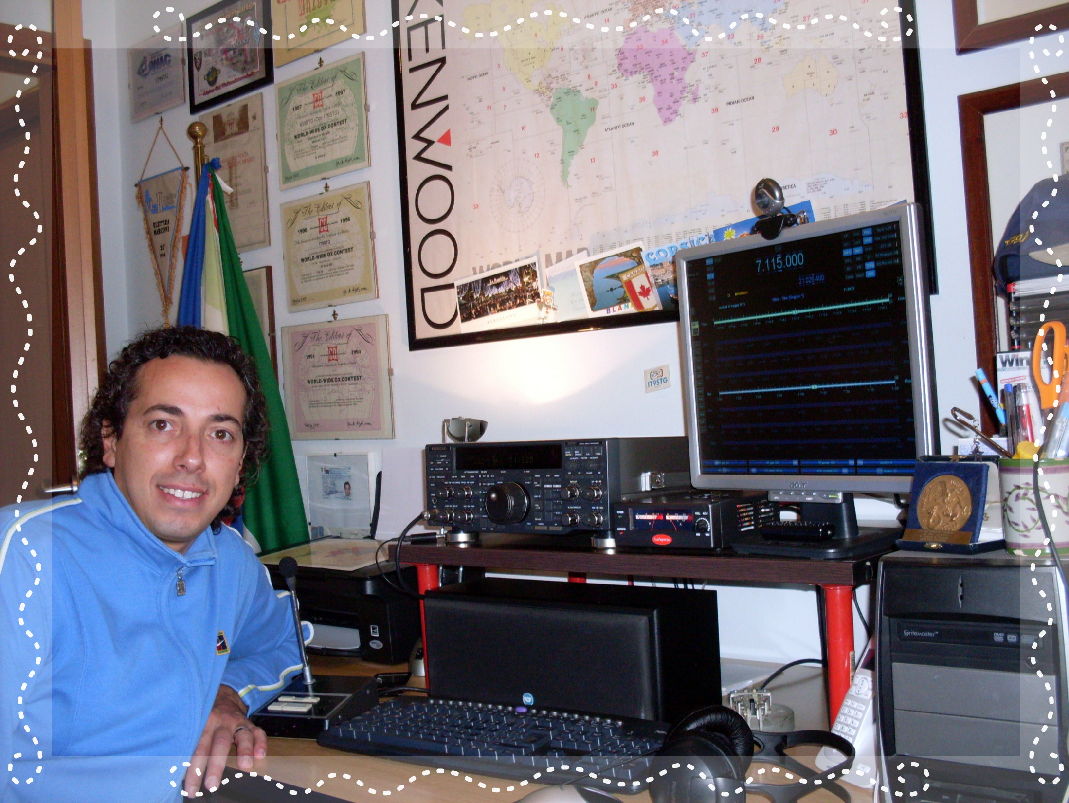 QSL image for IT9STG