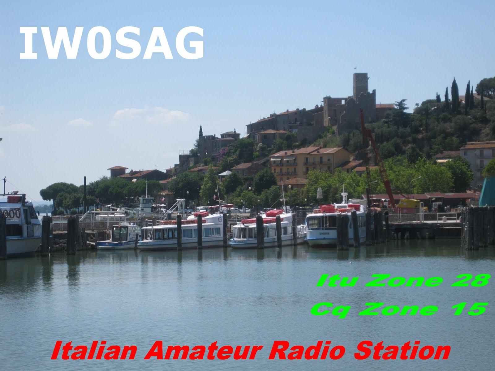 QSL image for IW0SAG