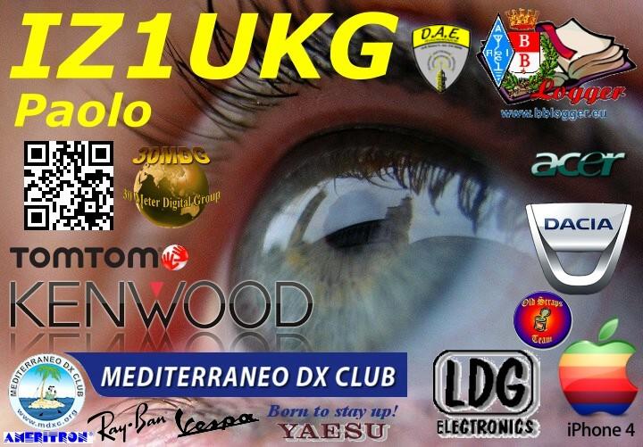 QSL image for IZ1UKG