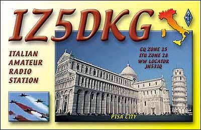 QSL image for IZ5DKG
