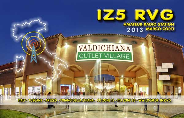 QSL image for IZ5RVG