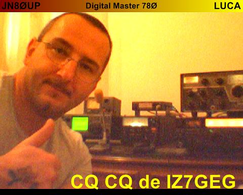 QSL image for IZ7GEG