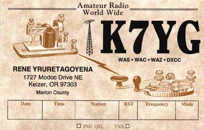 QSL image for K7YG