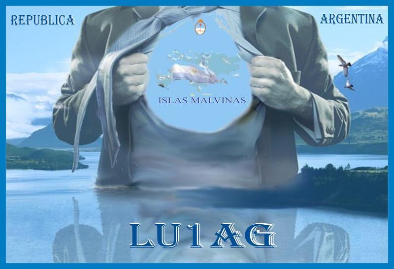QSL image for LU1AG