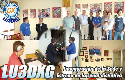 QSL image for LU3DXG