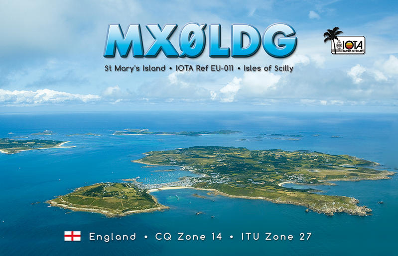 QSL image for MX0LDG