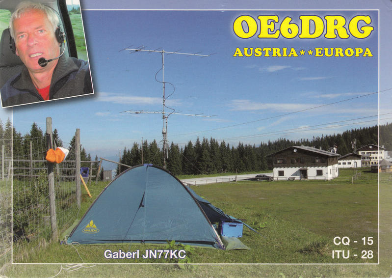 QSL image for OE6DRG
