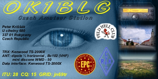 QSL image for OK1BLG