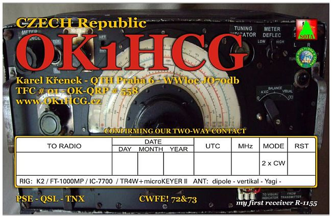 QSL image for OK1HCG