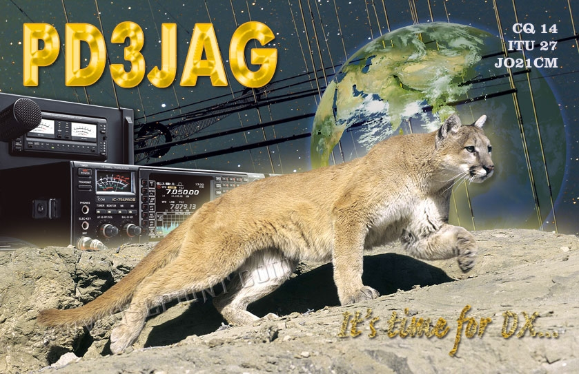 QSL image for PD3JAG