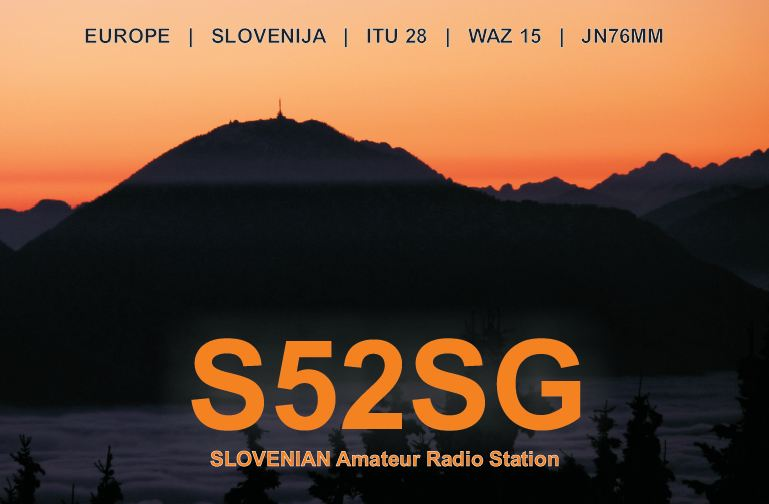 QSL image for S52SG