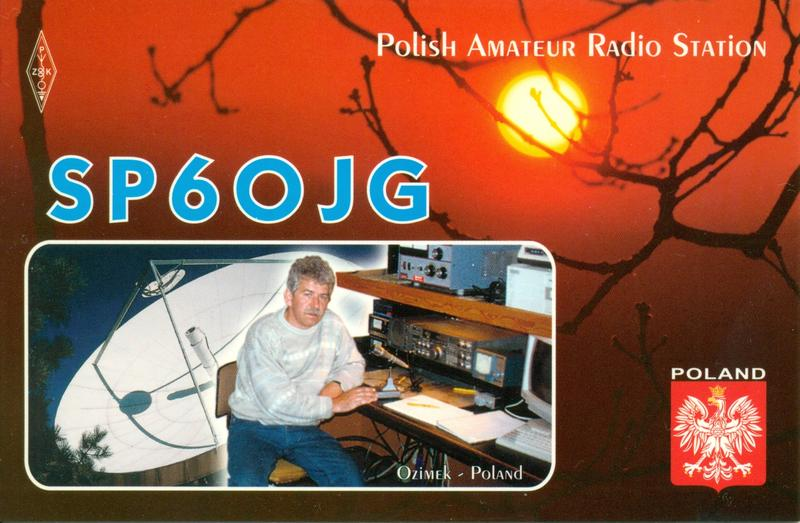 QSL image for SP6OJG