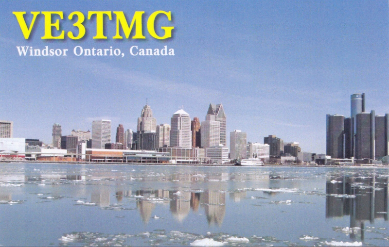 QSL image for VE3TMG