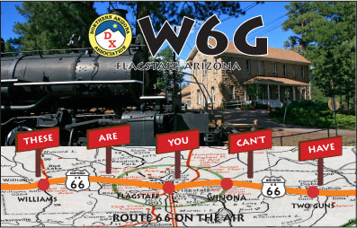 QSL image for W6G