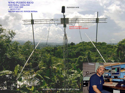 QSL image for WP4G