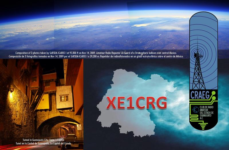 QSL image for XE1CRG