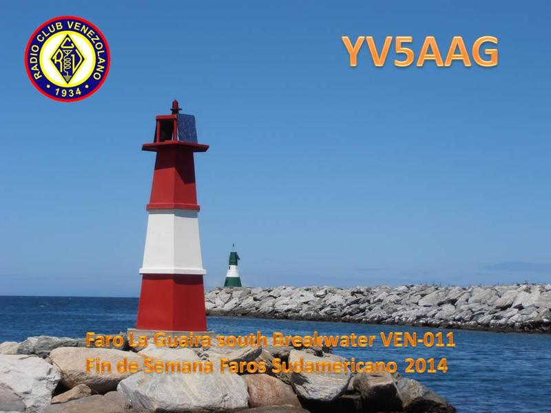 QSL image for YV5AAG
