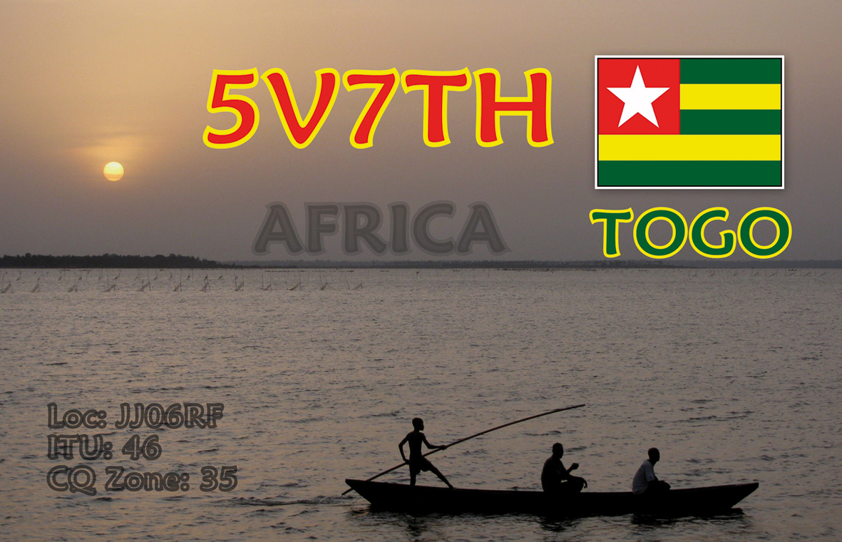 QSL image for 5V7TH