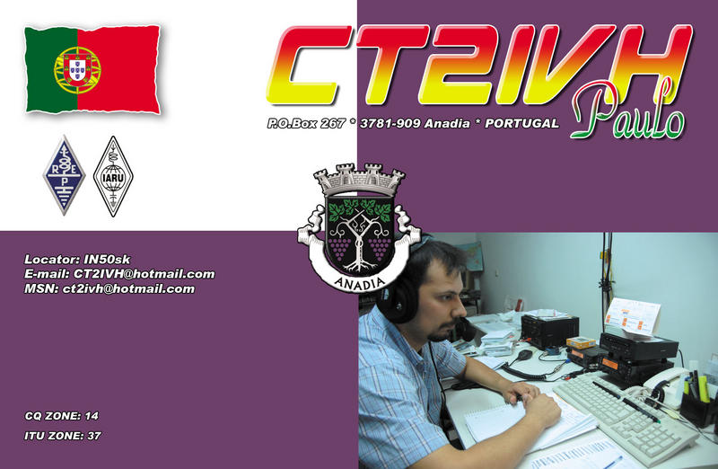 QSL image for CT2IVH