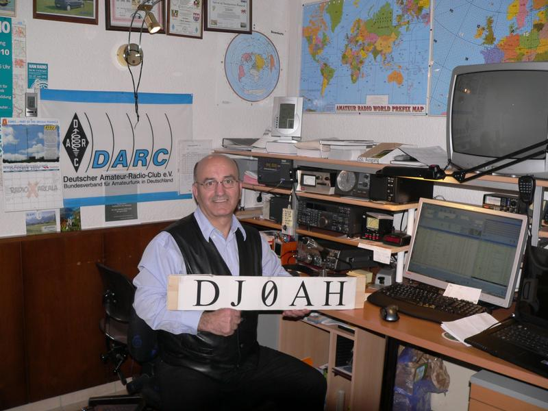 QSL image for DJ0AH