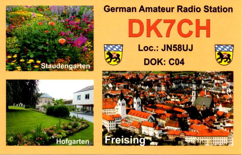 QSL image for DK7CH